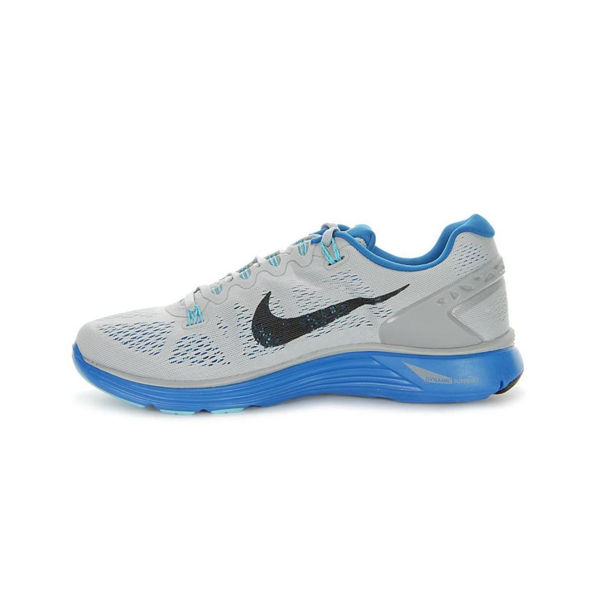 66c9d6f1e98e Nike Lunarglide 5 Men s Running Trainers In Grey in Gray for Men - Lyst