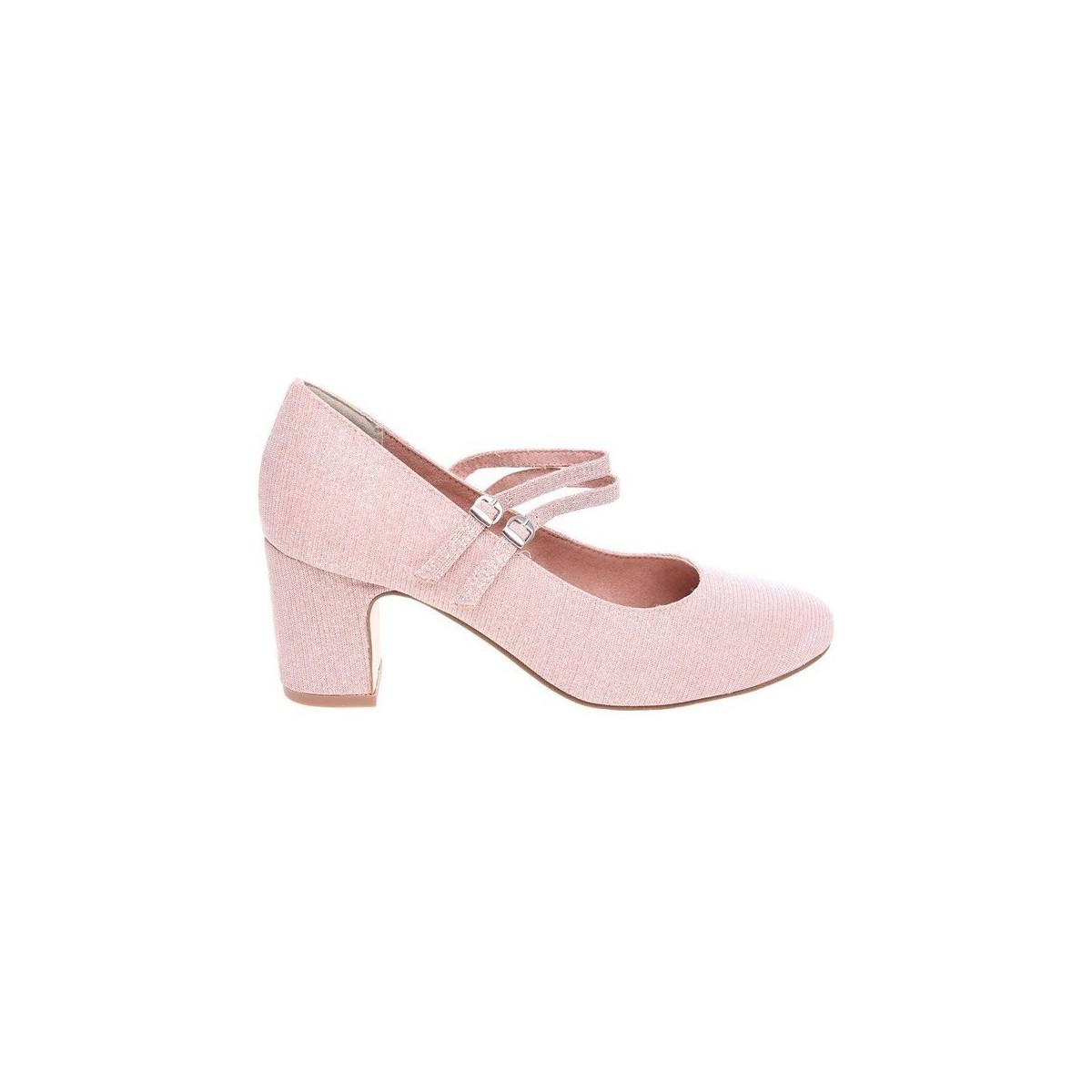 Tamaris. Pink 12440720 Rose Glam 112440720 552 Women's Court Shoes In  Multicolour