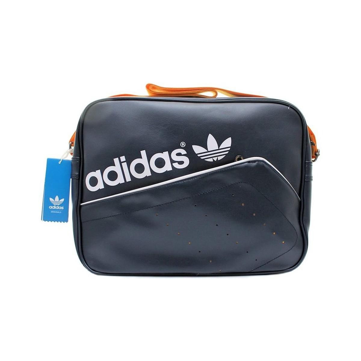 4112ab28ef adidas Airliner Perf Men s Shoulder Bag In Multicolour in Blue for ...