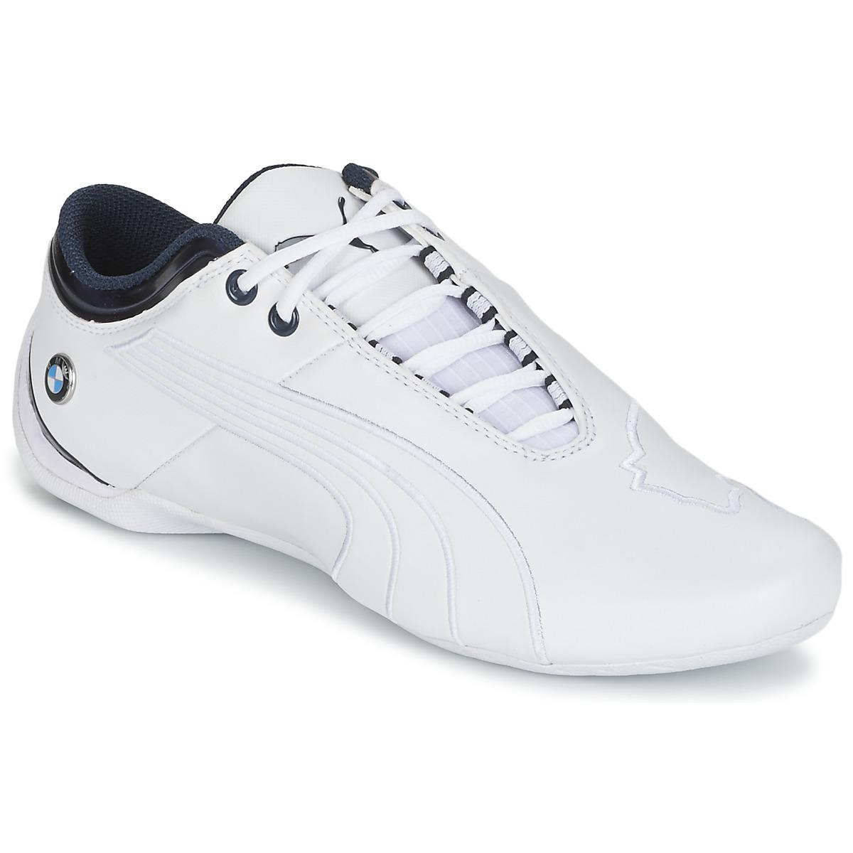 4551bfbec1c686 PUMA Bmw Ms Future Cat M1 2 Men s Shoes (trainers) In White in White ...
