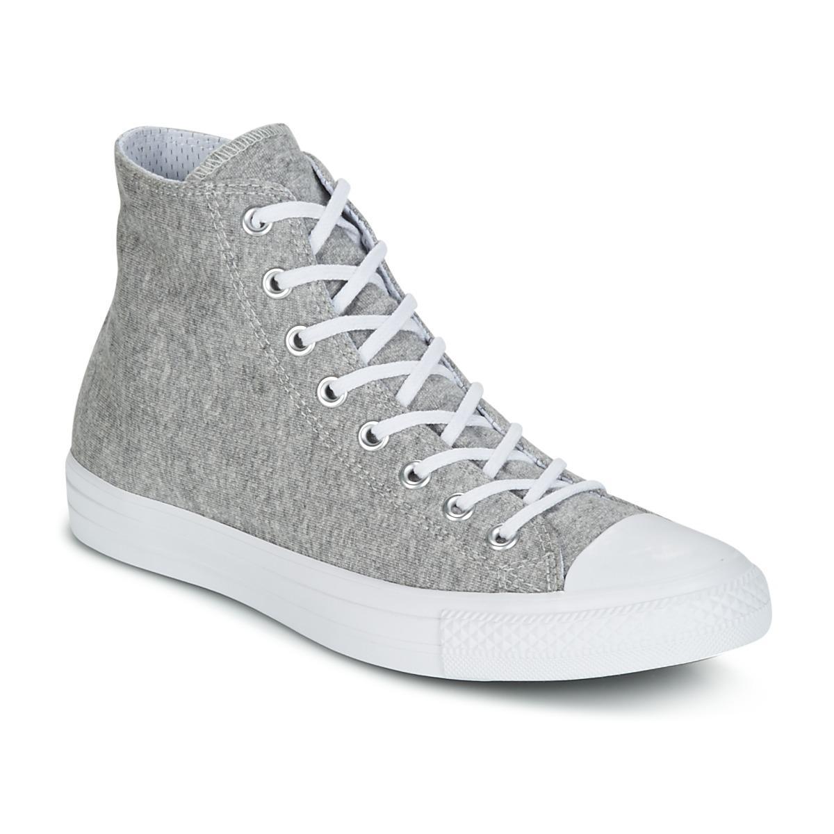 631219477b74 Converse. Gray Chuck Taylor All Star Hi Essential Terry Men s Shoes (high- top ...