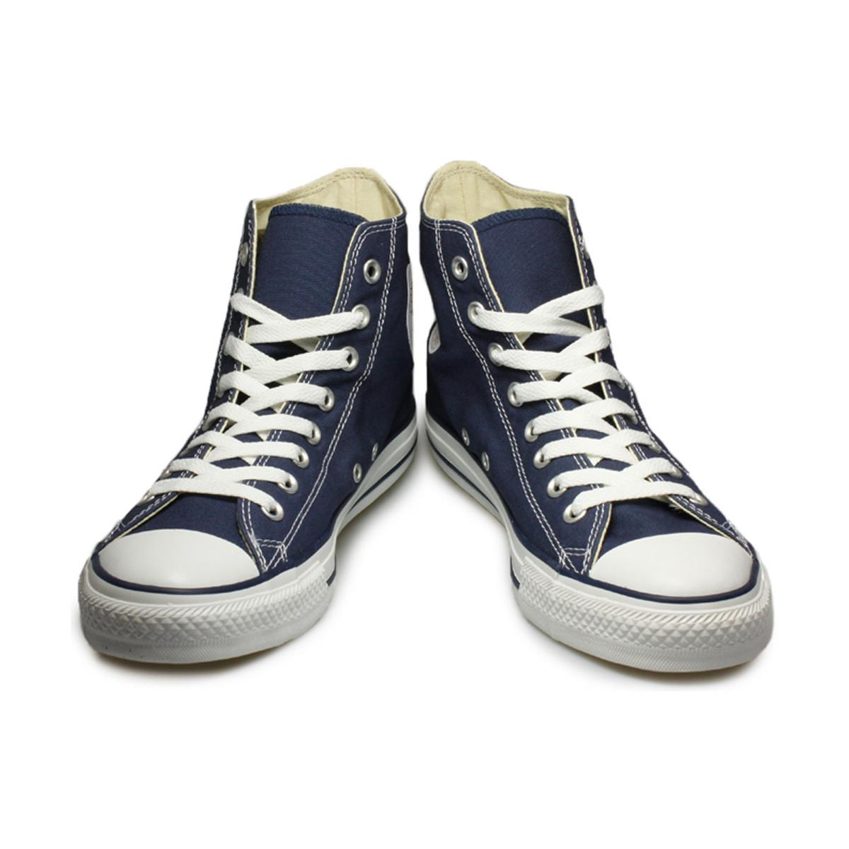 2ccd04b04491cb Converse - Mens Womens Navy All Star Hi Trainers Men s Shoes (high-top  Trainers. View fullscreen