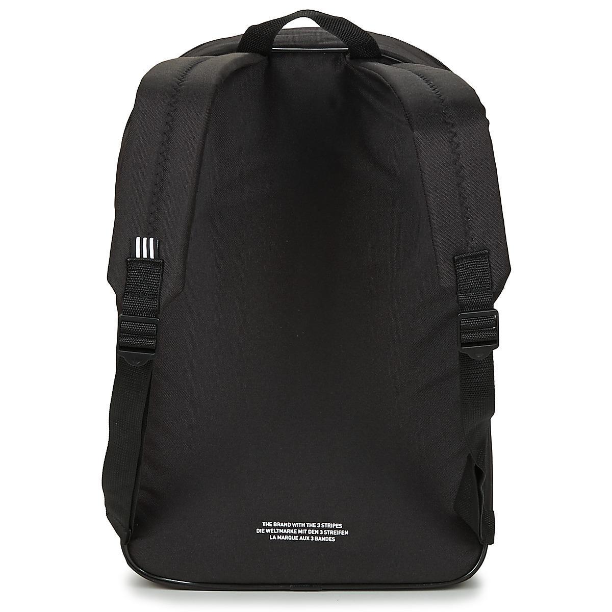 66f73015463c Adidas - Bp Clas Trefoil Men s Backpack In Black for Men - Lyst. View  fullscreen