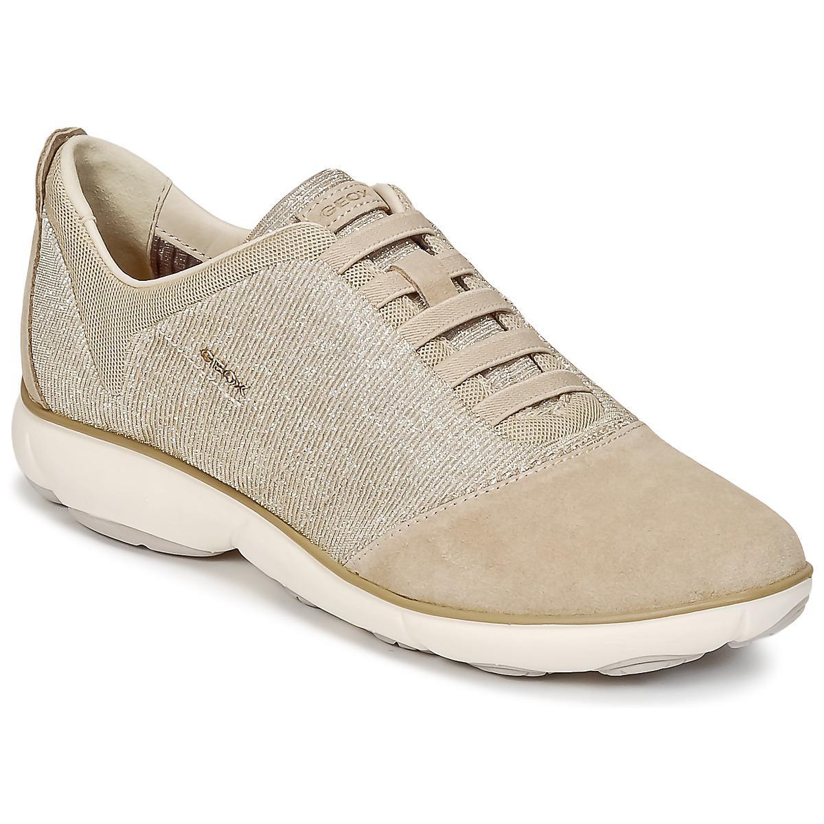 e8817e7c60c88 Geox D Nebula G Women s Shoes (trainers) In Beige in Natural - Lyst