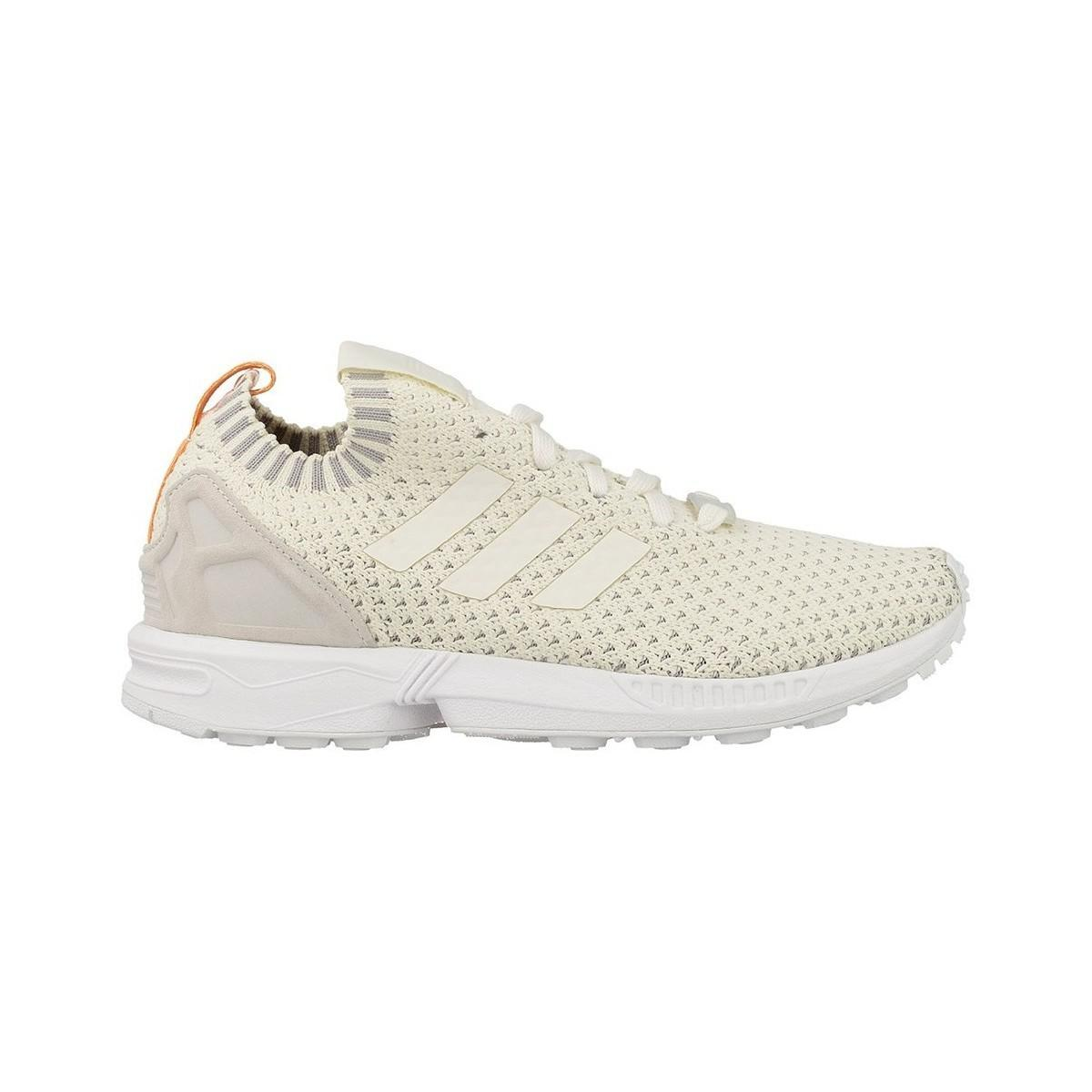 47da2732c10f8 Adidas Zx Flux Pk W Women s Shoes (trainers) In Beige in Natural - Lyst