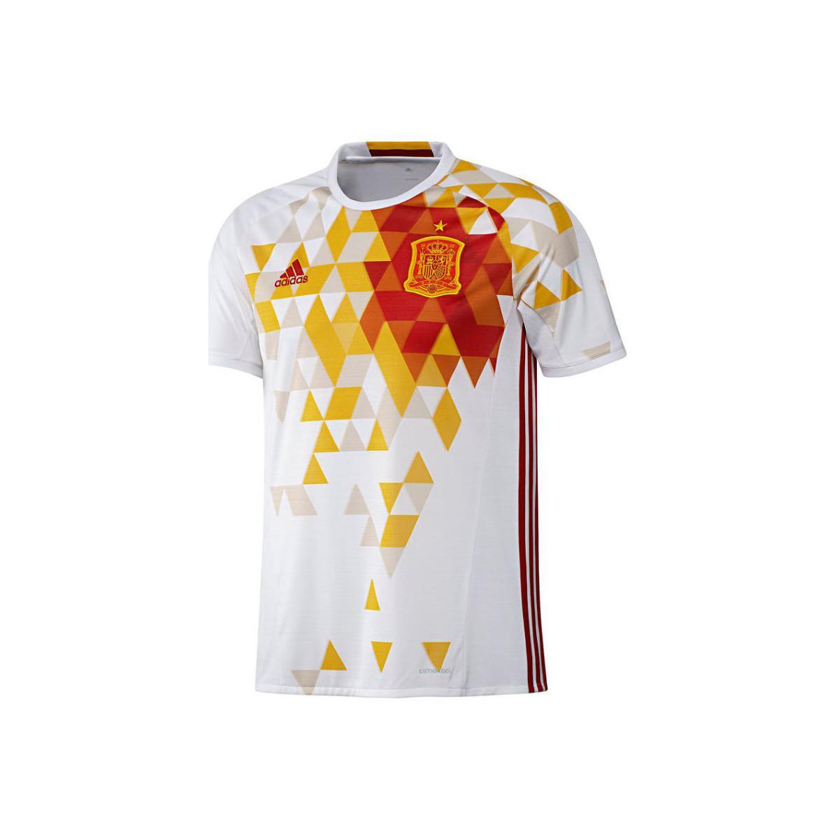 Lyst - Adidas 2016-2017 Spain Away Shirt (raul 7) Women s T Shirt In ... d512d3e85