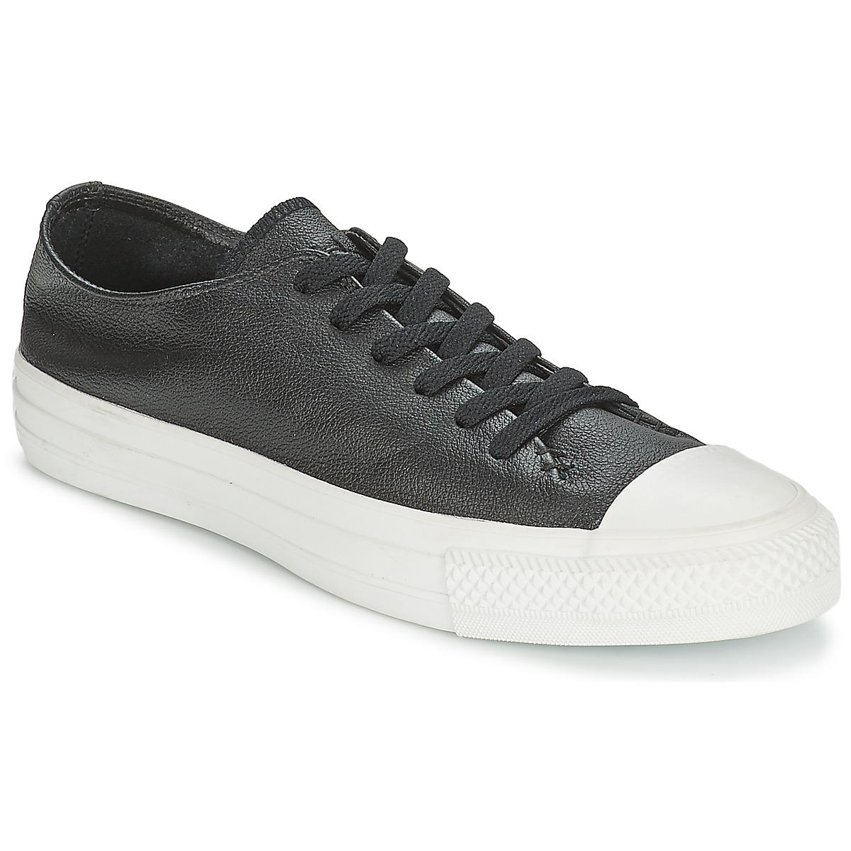 d55b4c863b6f Converse All Star Sawyer Ox Men s Shoes (trainers) In Black in Black ...