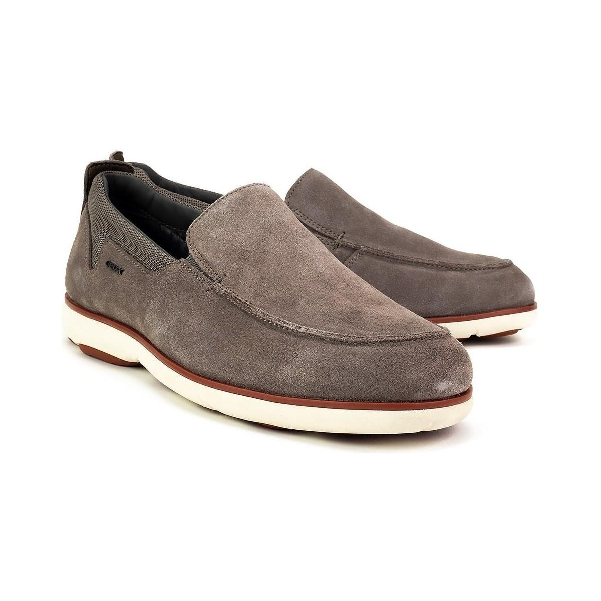 0a92d441295e1 Geox - Gray Nebula Men's Loafers / Casual Shoes In Grey for Men - Lyst.  View fullscreen