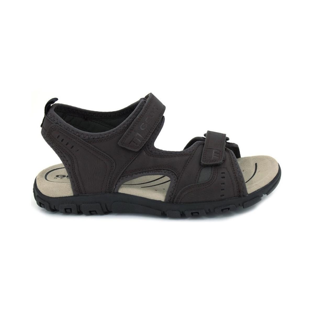 20ca4efce49c Geox U S.strada A U4224a Men ́s Sandals Men s Sandals In Brown in Brown for  Men - Lyst