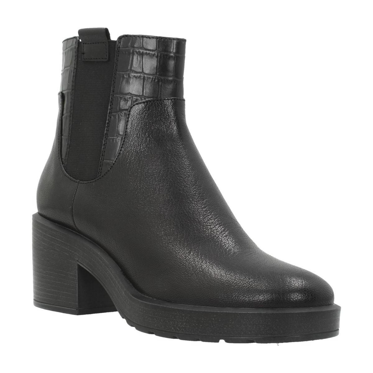Geox D Kenly Mid A Women s Low Ankle Boots In Black in Black - Lyst 91f64e6bba6