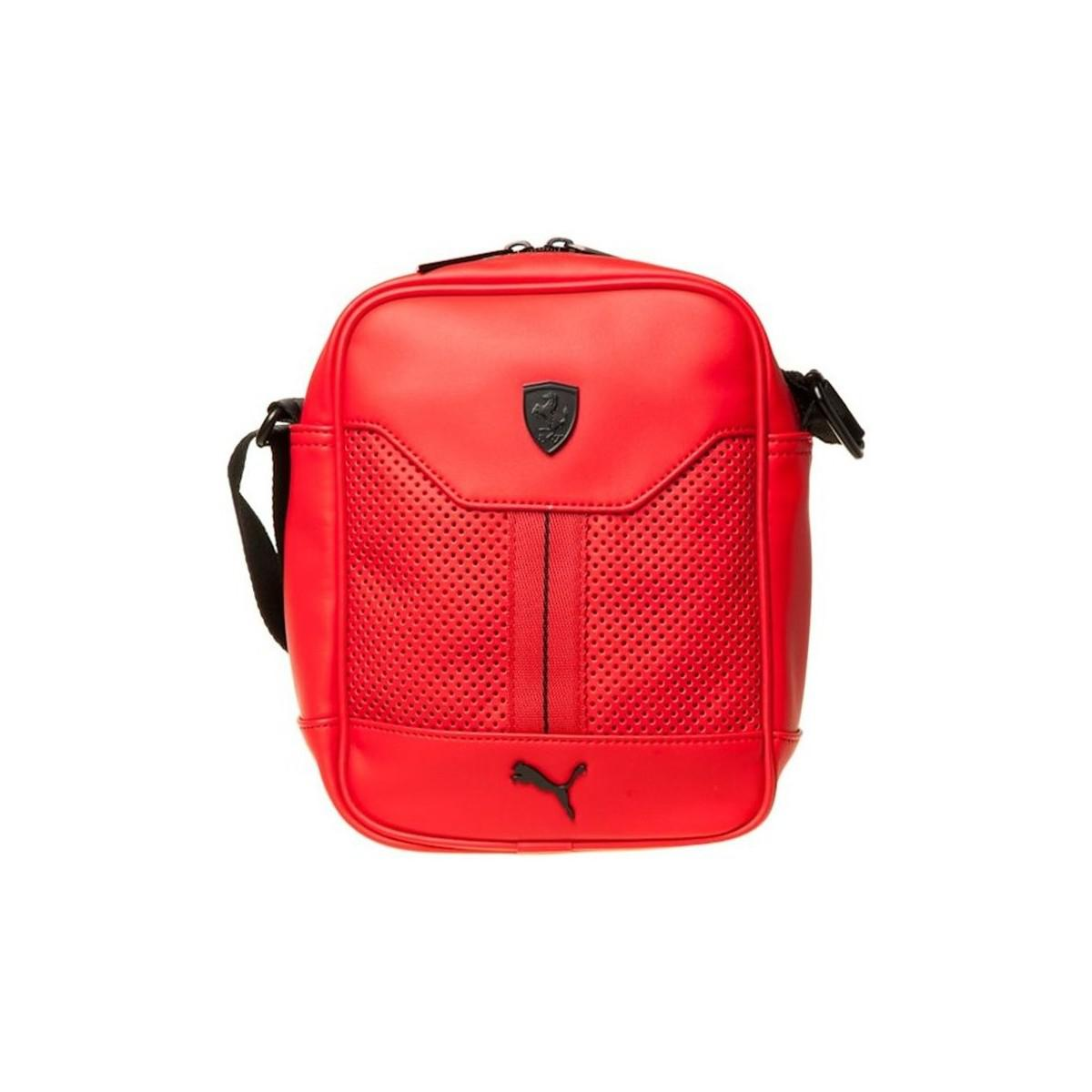 33a5767b90 Puma Ferrari Ls Portable Men s Pouch In Red in Red for Men - Lyst