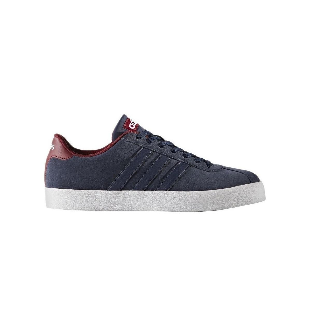 new concept fa5ca 63012 adidas Court Vulc Mens Shoes (trainers) In Blue in Blue for