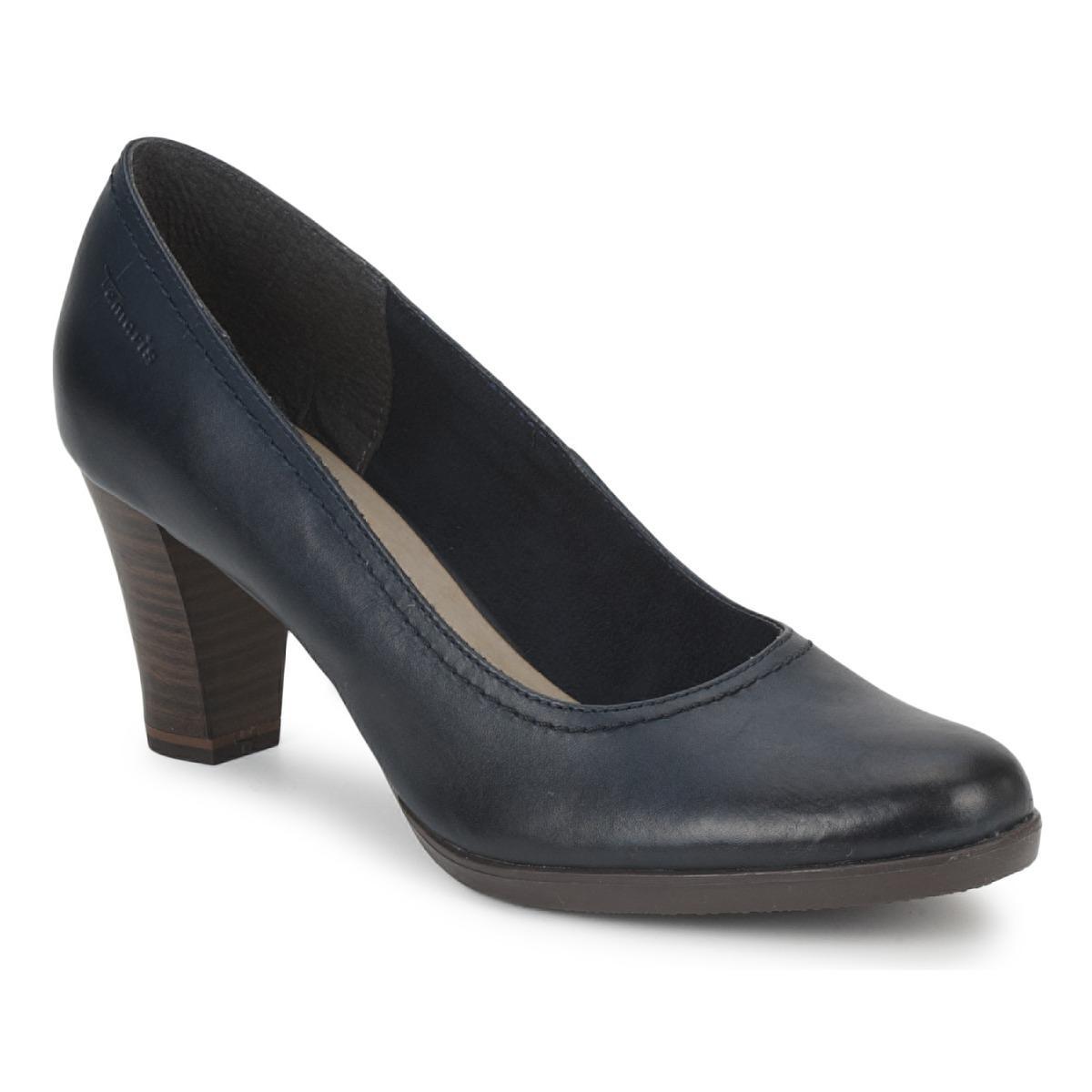 5b2894619da Tamaris Anina Women s Court Shoes In Blue in Blue - Lyst