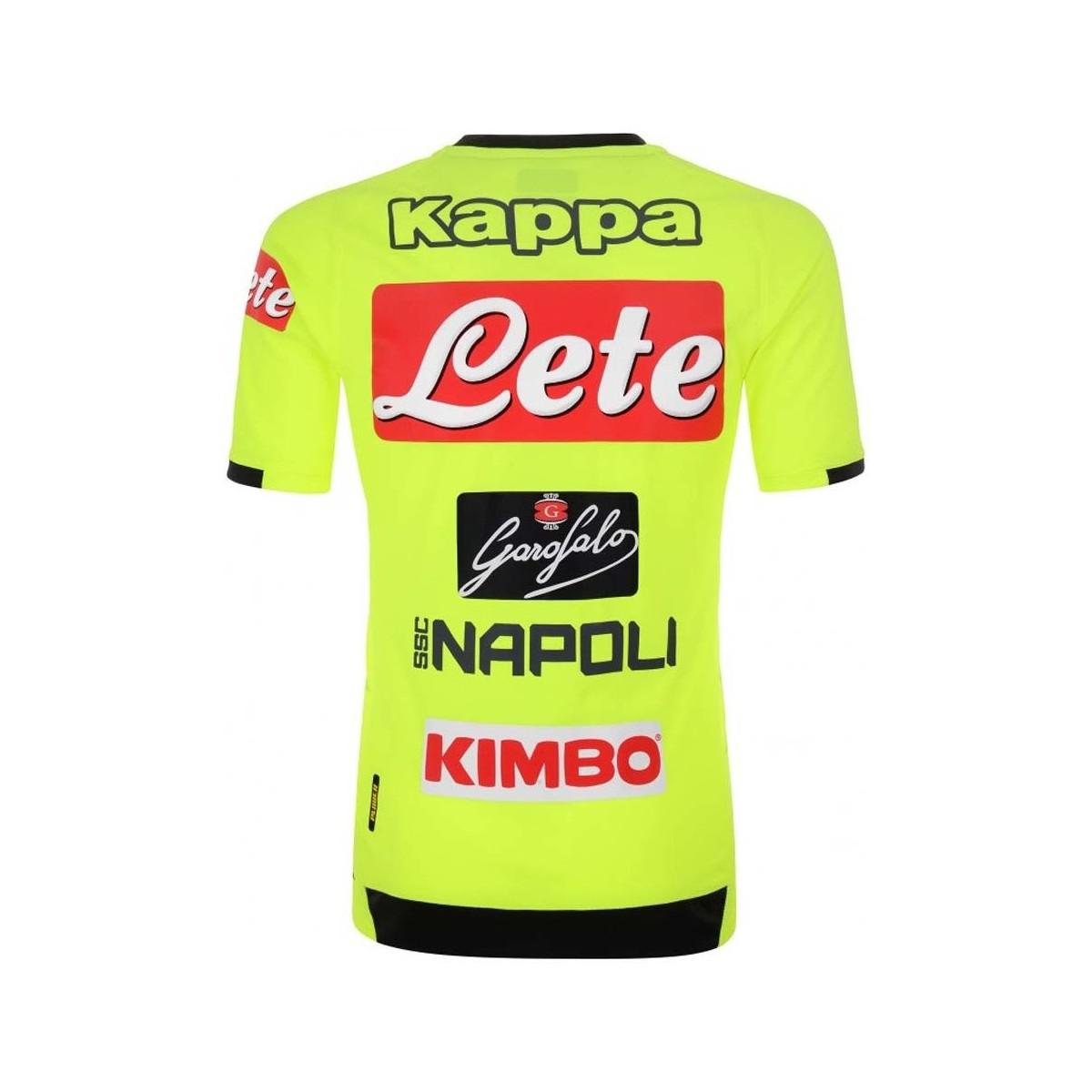 Kappa 2018-2019 Napoli Training Jersey Men s T Shirt In Other for ... 4f5bd9f0d9e09