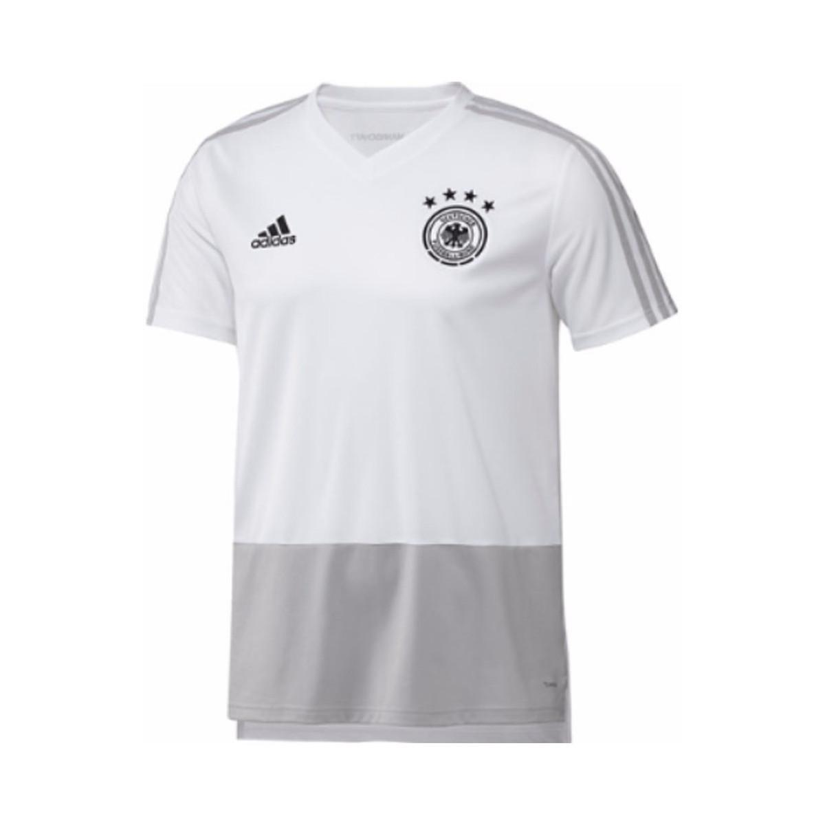 221507806 adidas 2018-2019 Germany Training Shirt Men s T Shirt In White in ...