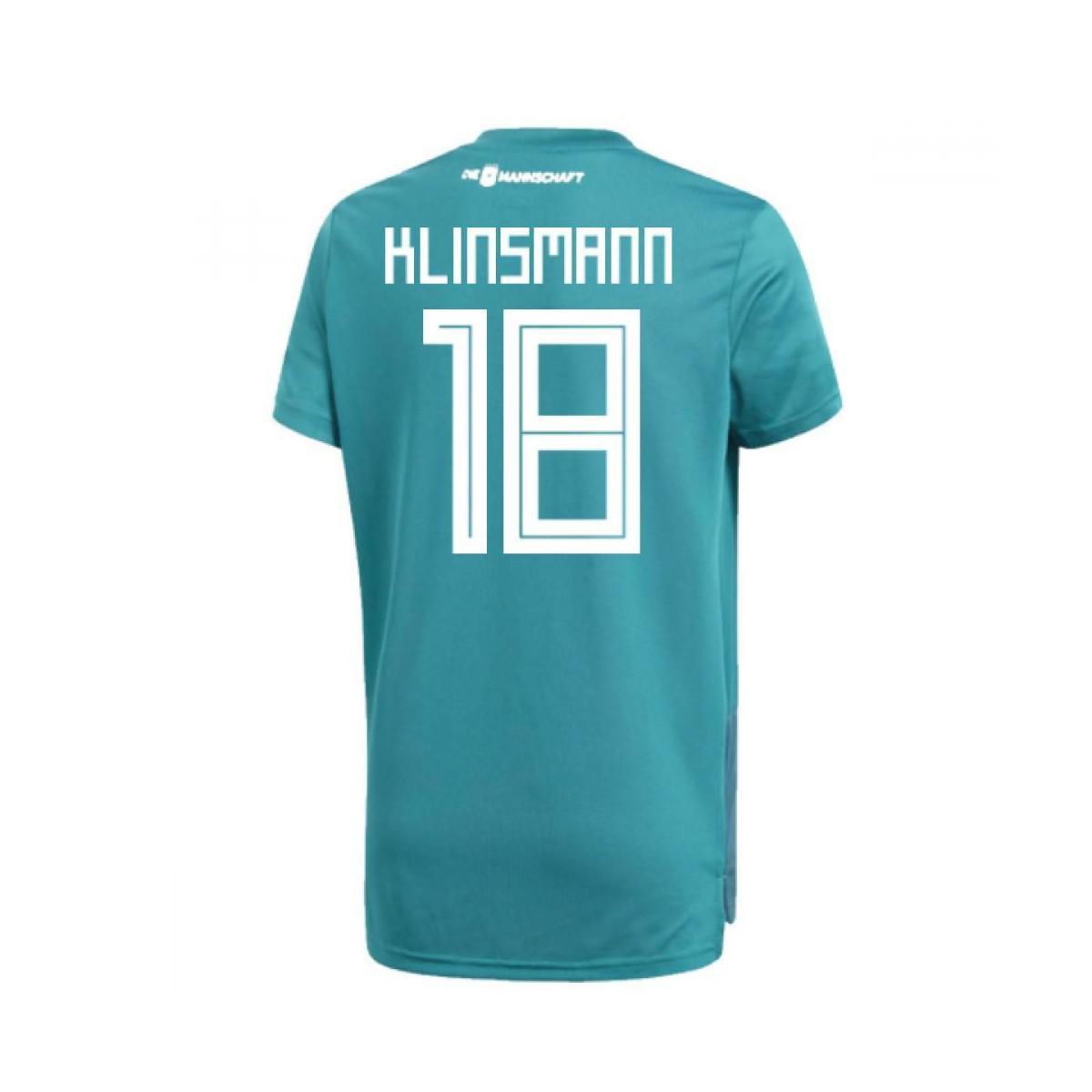 77d63378c adidas 2018-19 Germany Away Training Shirt (klinsmann 18) Men s T ...