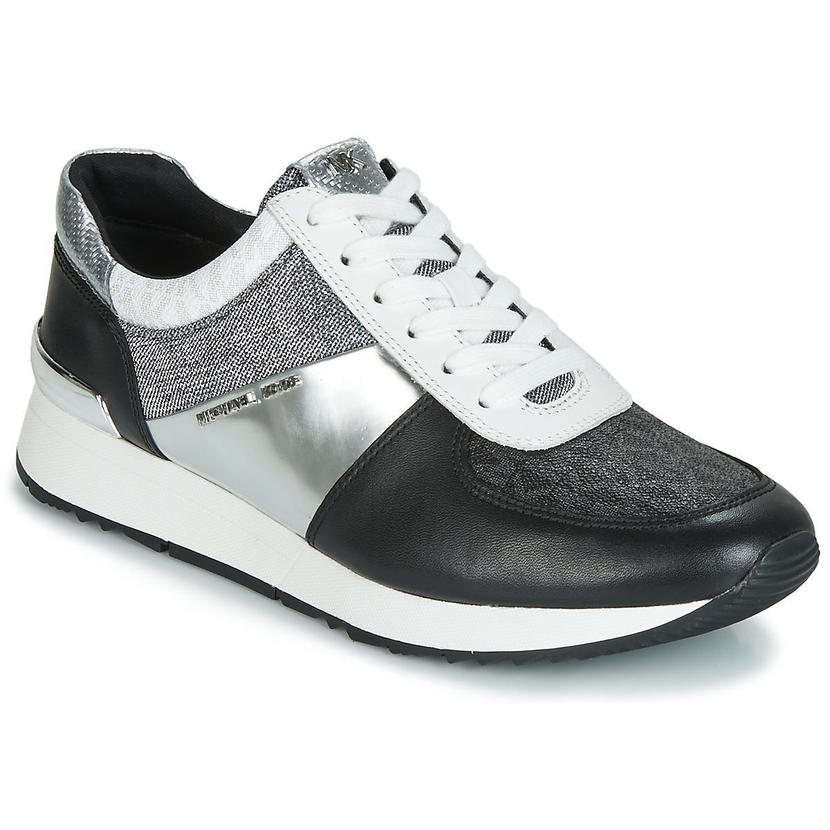 f8efbd6bd51f3 MICHAEL Michael Kors Allie Trainer Women s Shoes (trainers) In Black ...