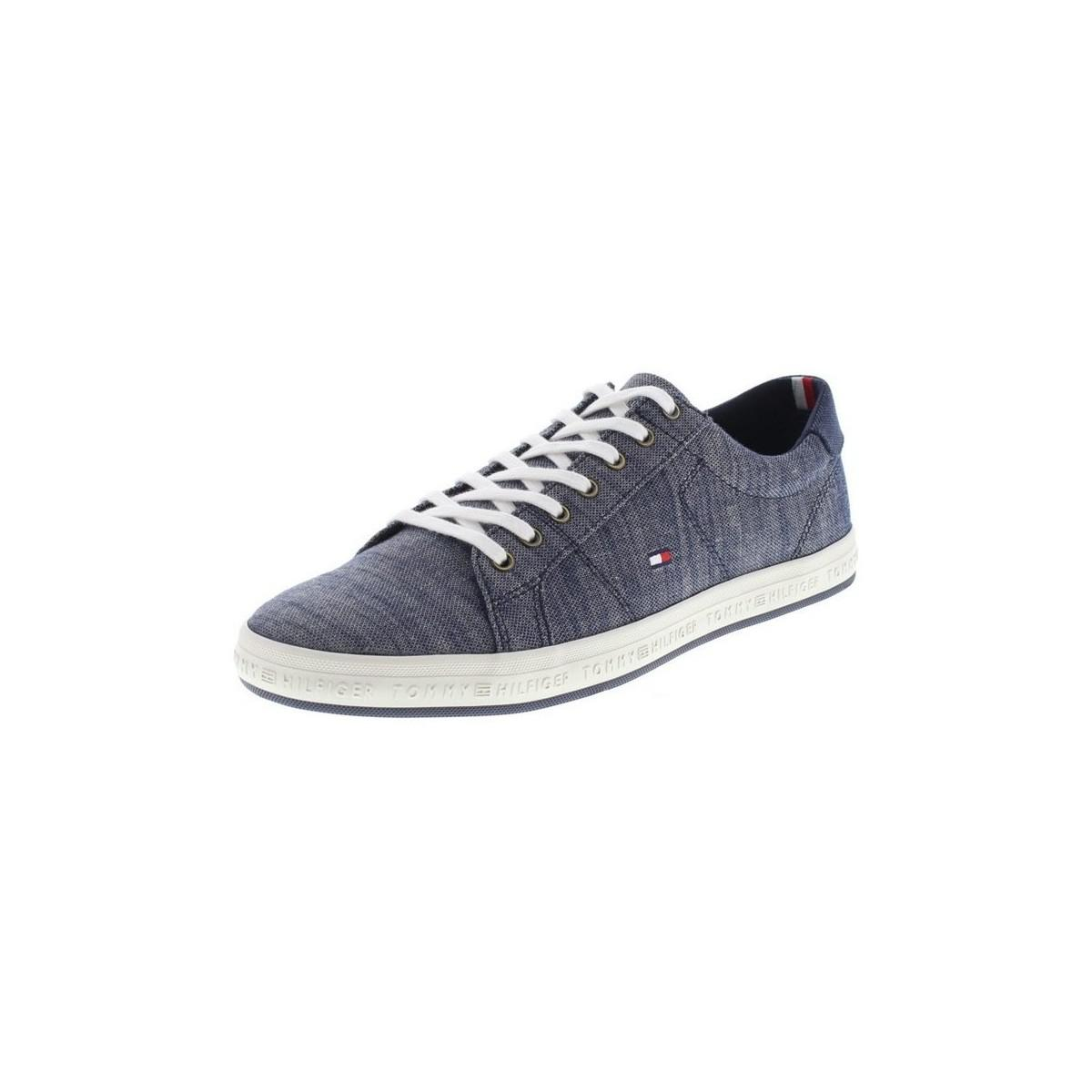 48748f31f7bf Tommy Hilfiger Fm01378 Men s Shoes (trainers) In Grey in Gray for ...