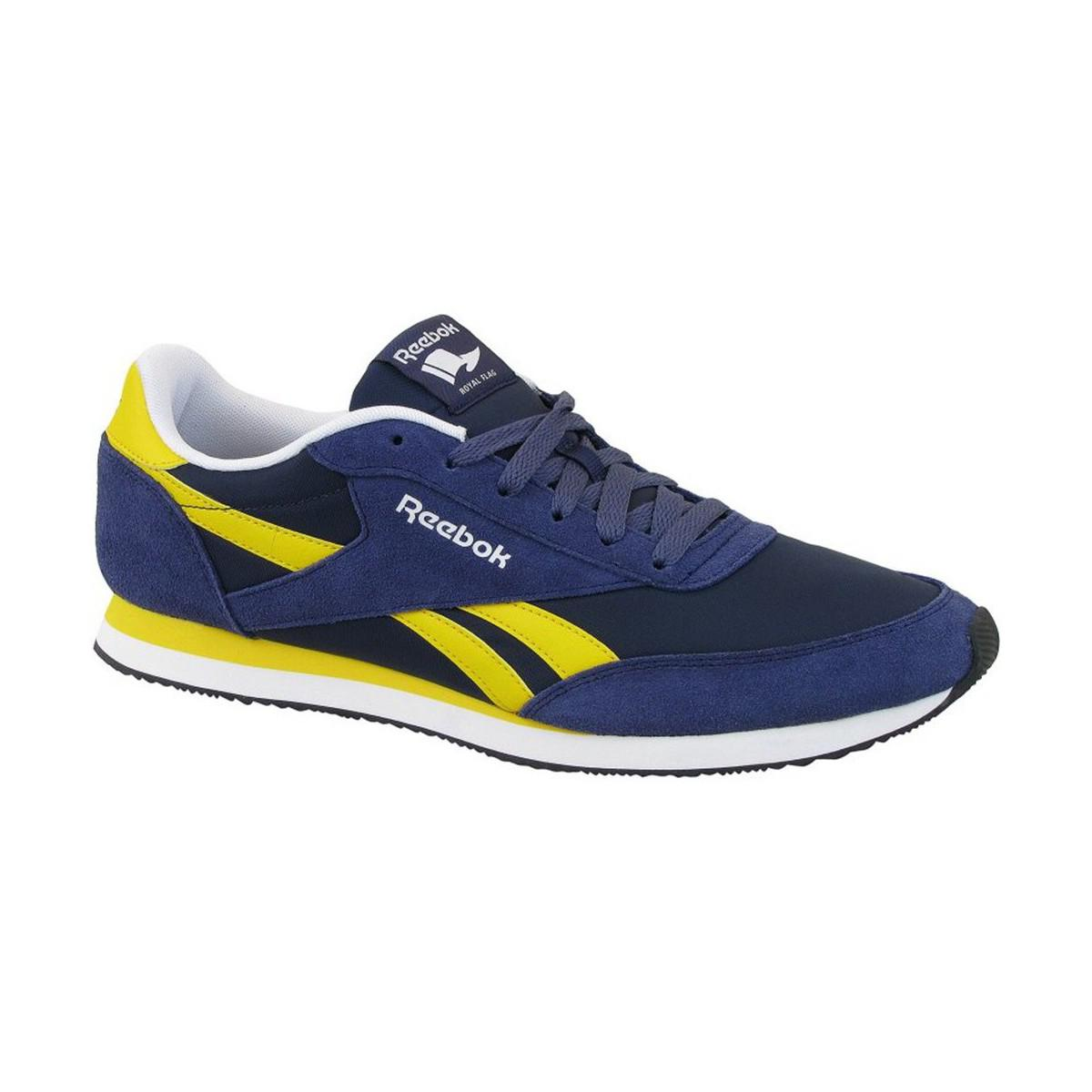 cb2ba330441 Reebok - Blue Royal Cl Jogger 2 Men s Shoes (trainers) In Multicolour for  Men. View fullscreen