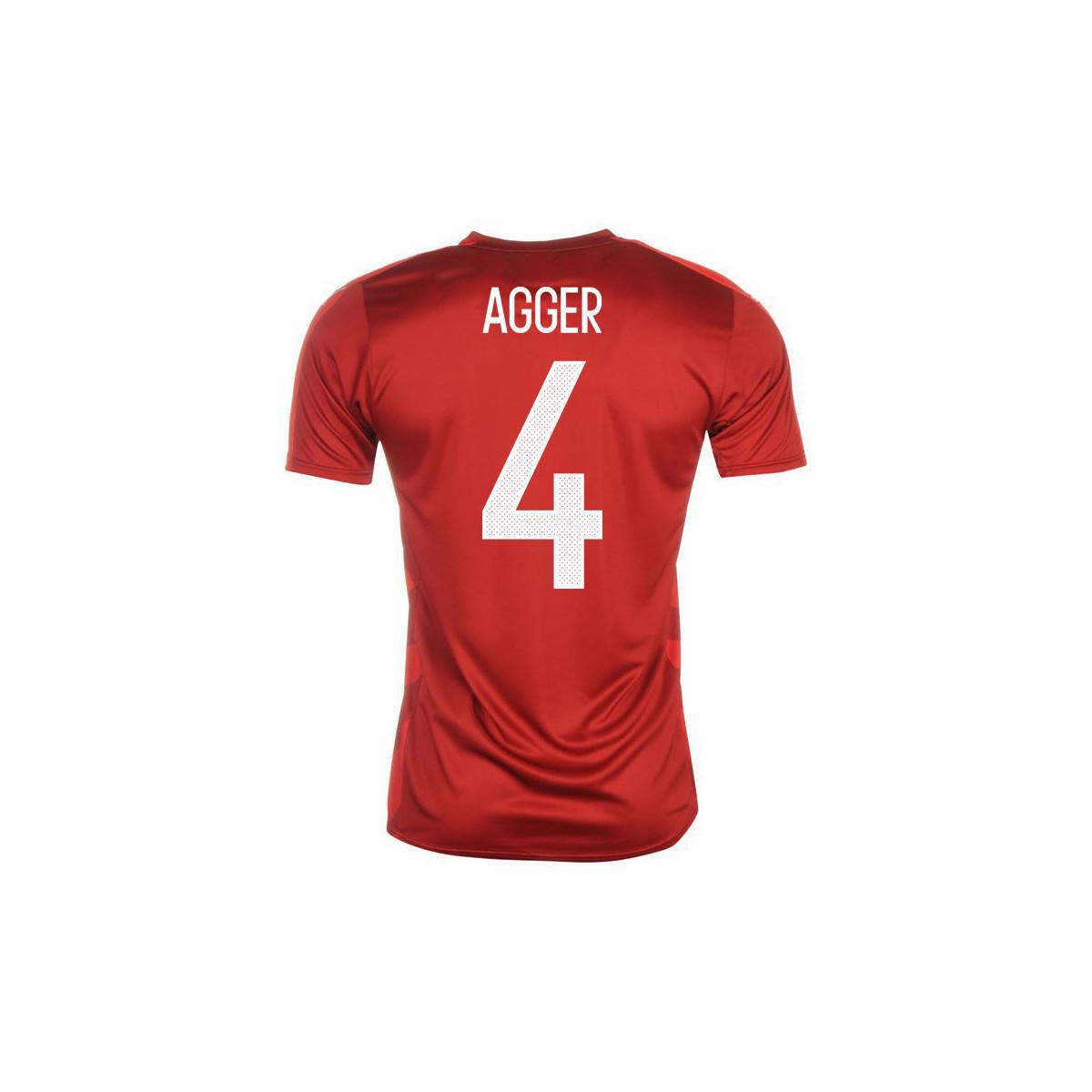 Lyst - Adidas 2016-2017 Denmark Home Shirt (agger 4) Men s T Shirt ... 8626fbdda