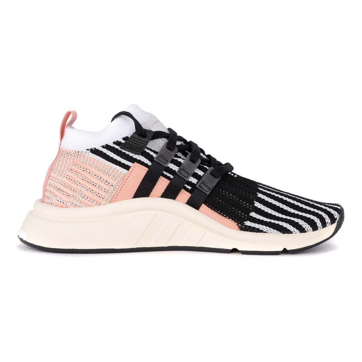 huge discount dbe43 1f0ee Adidas Sneaker Eqt Support Nera E Rosa Men s Shoes (trainers) In ...