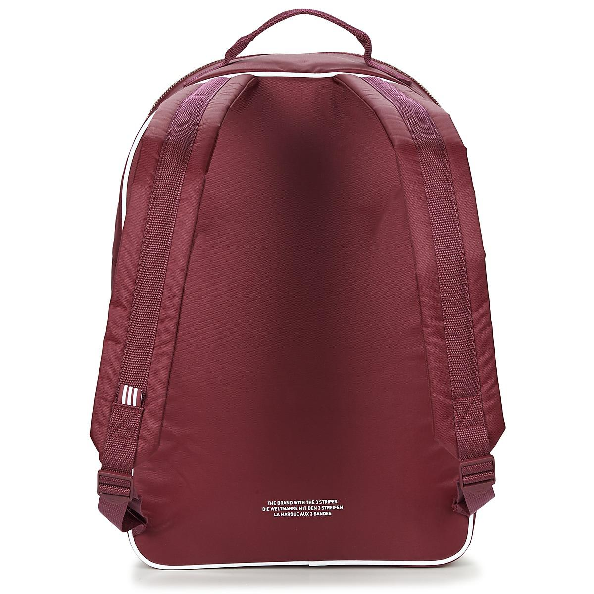cb7cb453a6 adidas Classic Adicolor Bp Backpack in Red for Men - Lyst
