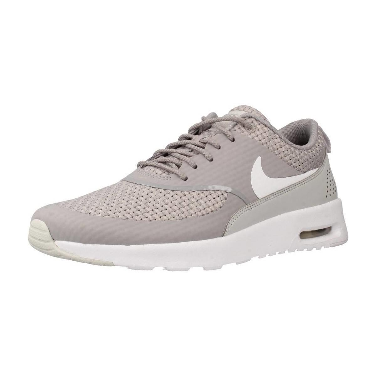 big sale 3a864 ff5ab Nike Air Max Thea Prm Women's Shoes (trainers) In Grey in Gray - Lyst