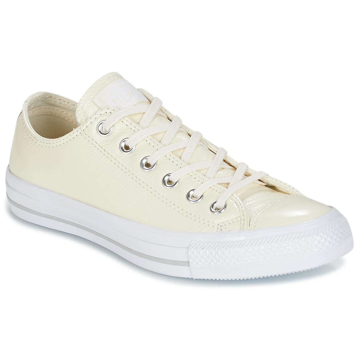 Women's Chuck Taylor® All Star® Crinkle Patent Leather Low Sneakers J1Md4dbSi