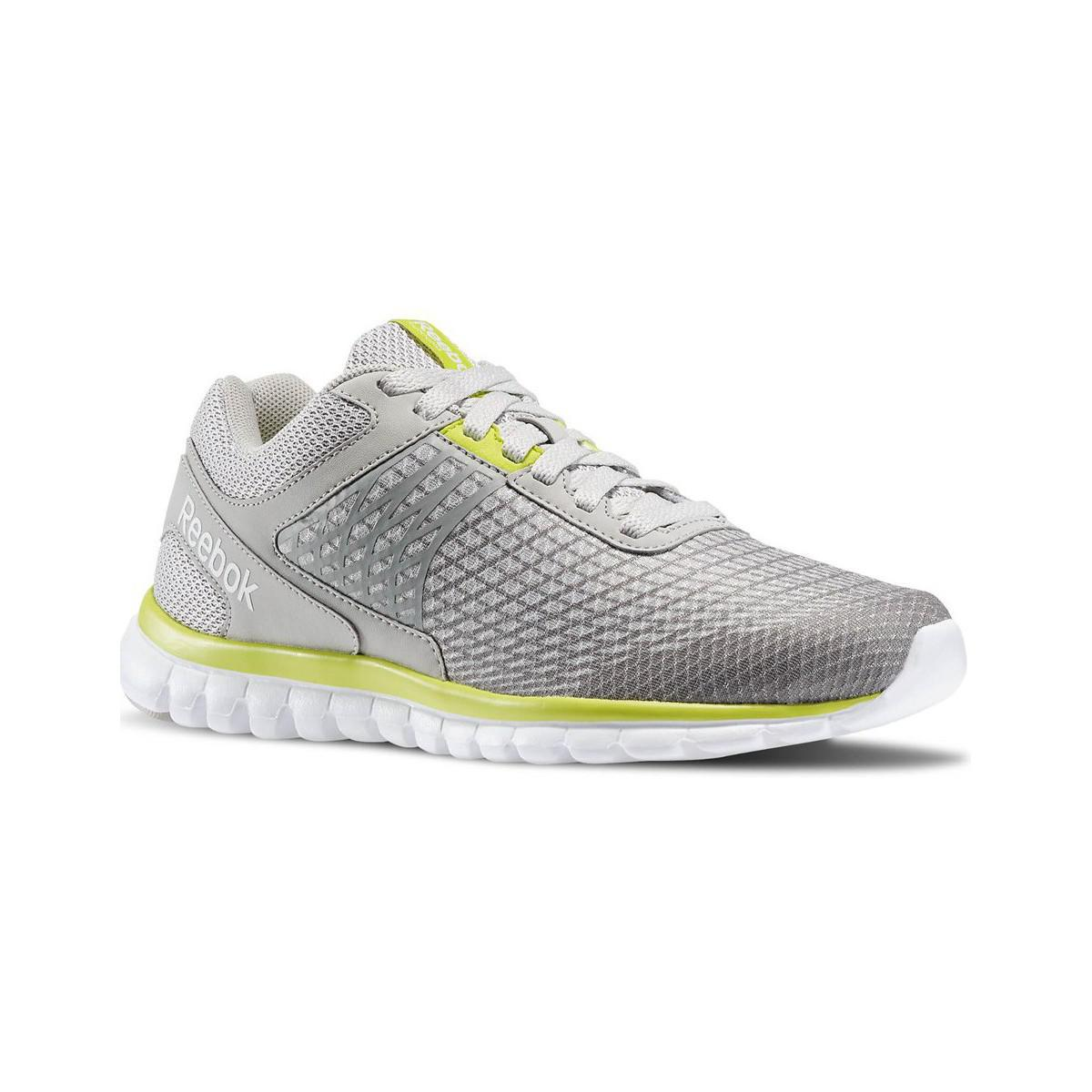 a5ae83ca1e98 Reebok Sublite Escape Women s Running Trainers In Grey in Gray - Lyst