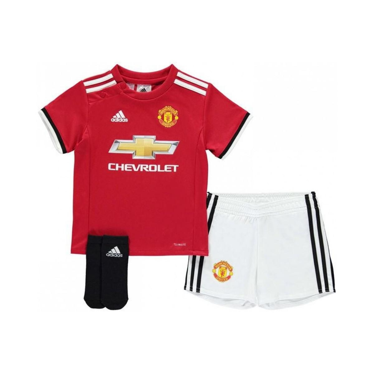 4a14b54b052 Adidas 2017-2018 Man Utd Home Baby Kit Boys s In Red in Red for Men ...