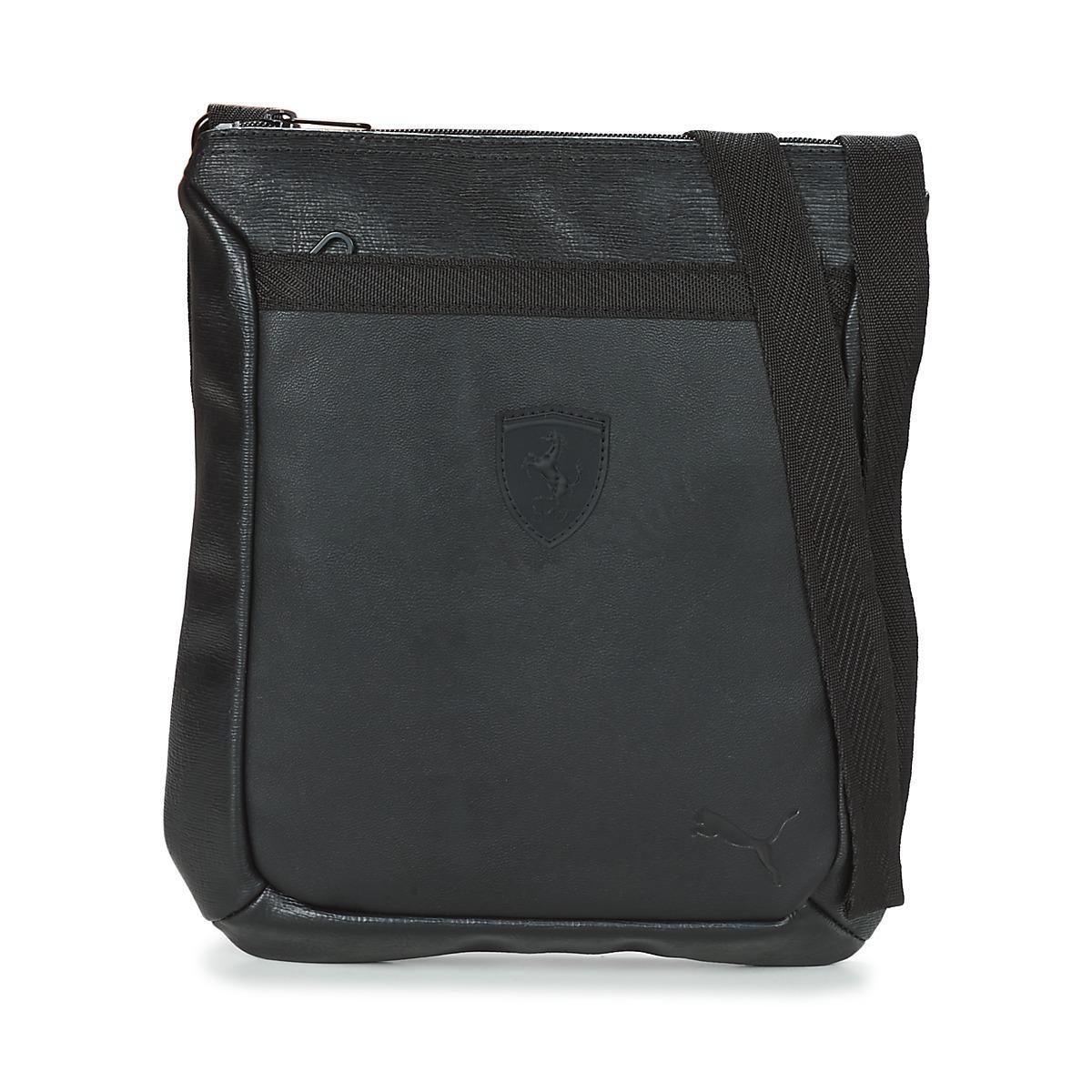 PUMA Ferrari Ls Flat Portable Men s Pouch In Black in Black for Men ... 5a1f4330ae005