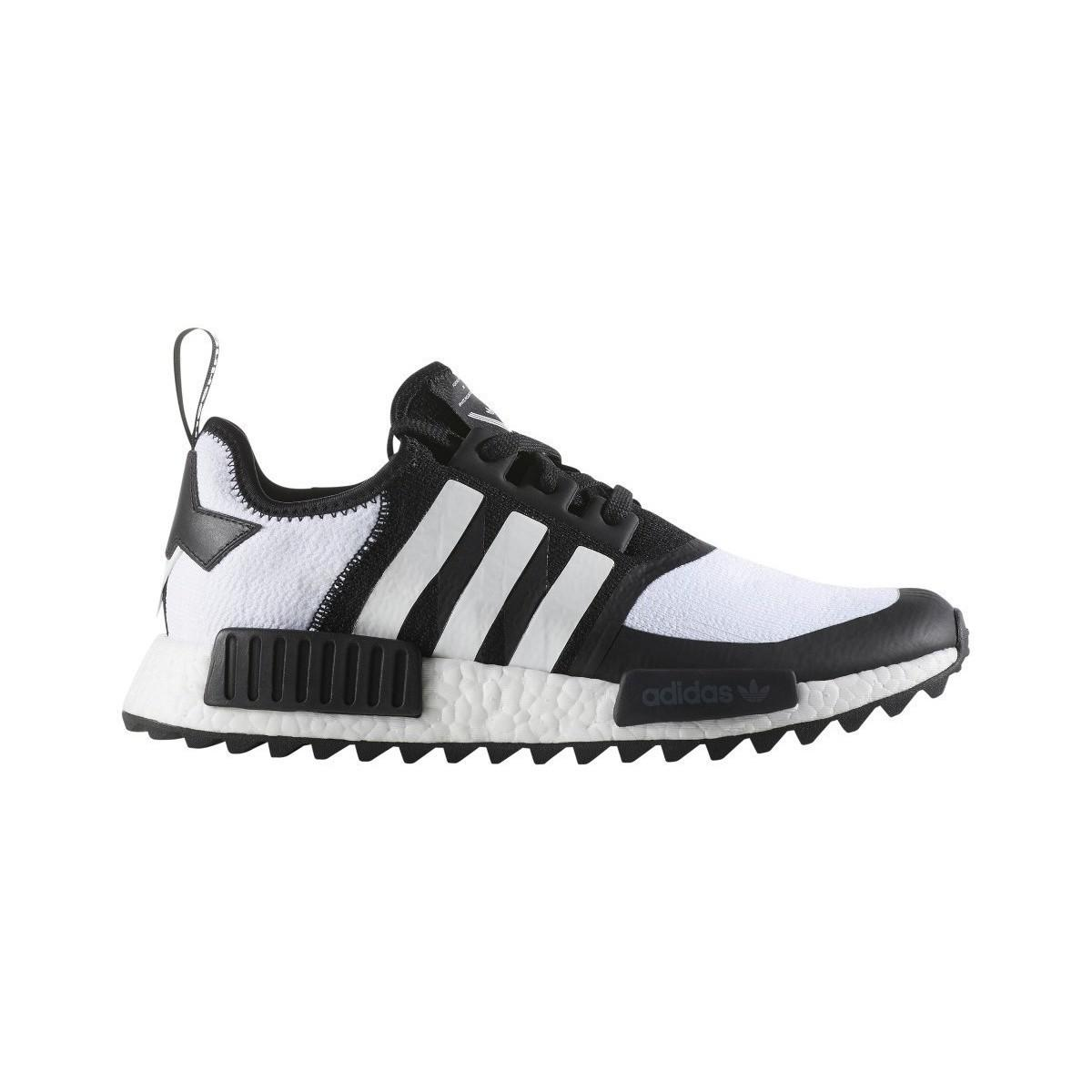 wholesale dealer f8373 068d7 Adidas White Mountaineering Nmd R1 Trail Primeknit Men s Mid Boots ...