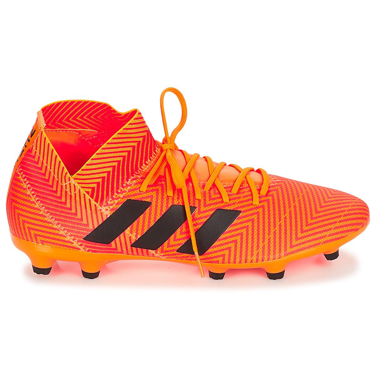 reputable site e1c2e aeefe Adidas - Orange Nemeziz 18.3 Fg Football Boots for Men - Lyst. View  fullscreen