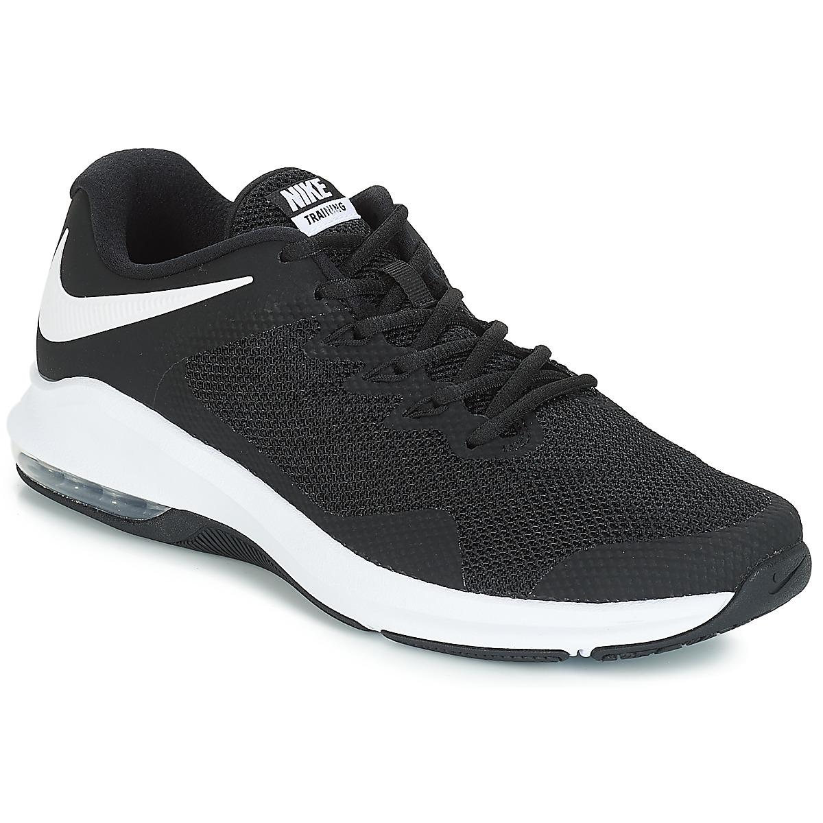 2902084b4baa94 Nike Air Max Alpha Trainer Men s Trainers In Black in Black for Men ...
