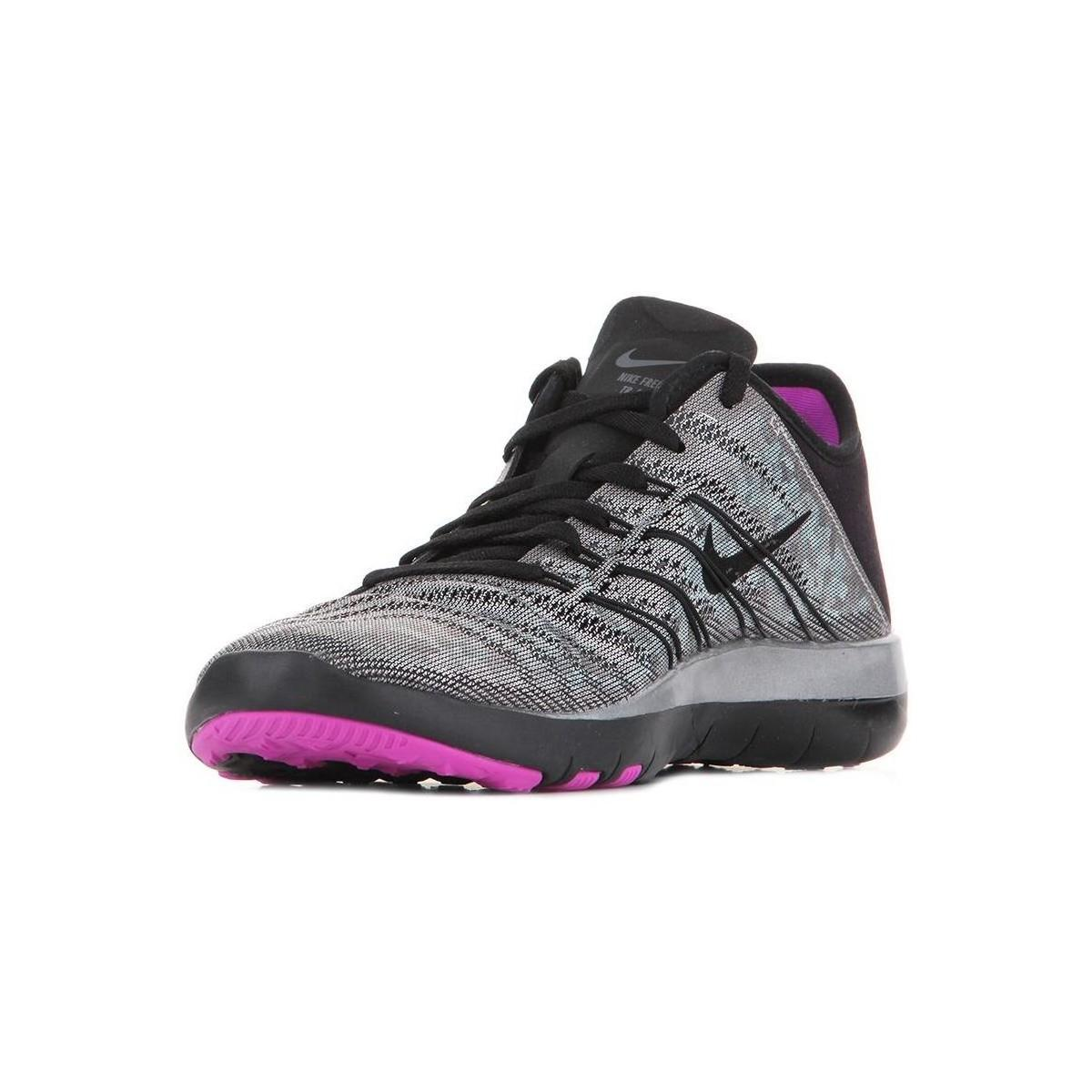 ad7d18232b96 Nike Free Tr 6 Mtlc 849805-002 Women s Running Trainers In Grey in Gray -  Lyst