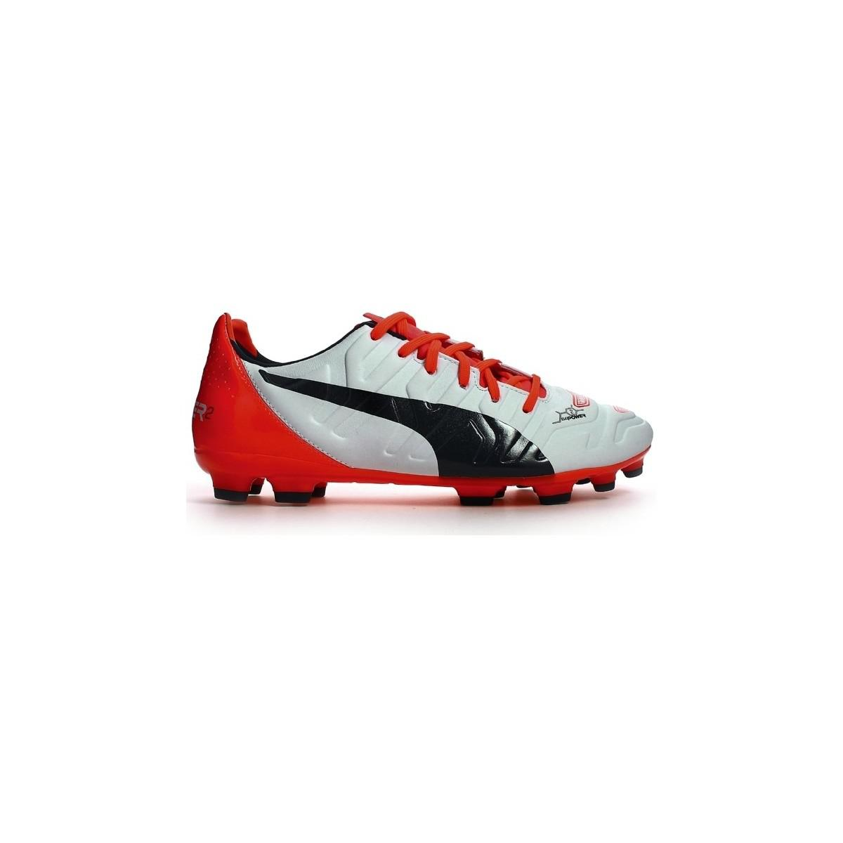 Puma Evopower 2.2 Ag Football Boots Women s Football Boots In White ... 6932ca8a2b