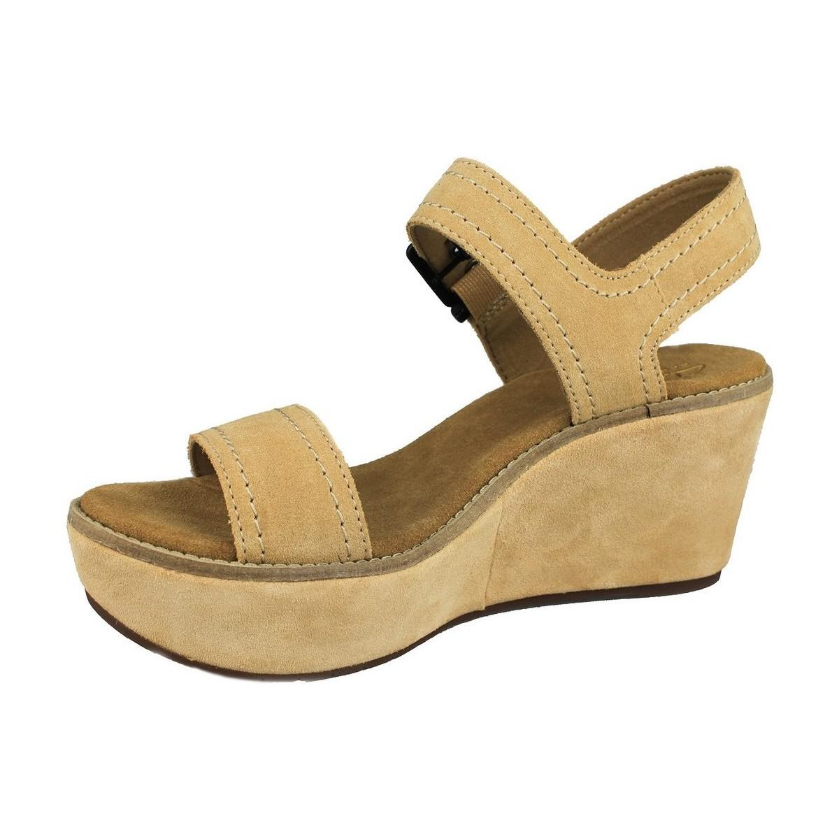 f22199098b59 Clarks - Aisley Orchid Women s Sandals In Brown - Lyst. View fullscreen