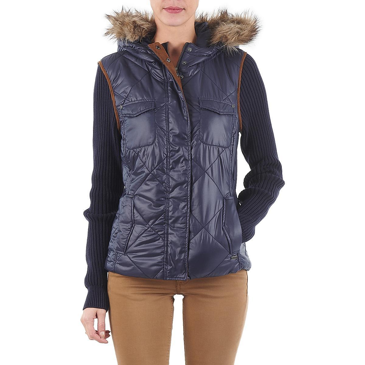 veste outdoor women 39 s jacket in multicolour in blue lyst. Black Bedroom Furniture Sets. Home Design Ideas