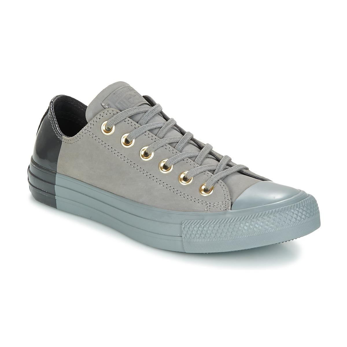 c35fdbaee15 Converse Chuck Taylor All Star Ox Blocked Nubuck Shoes (trainers) in ...