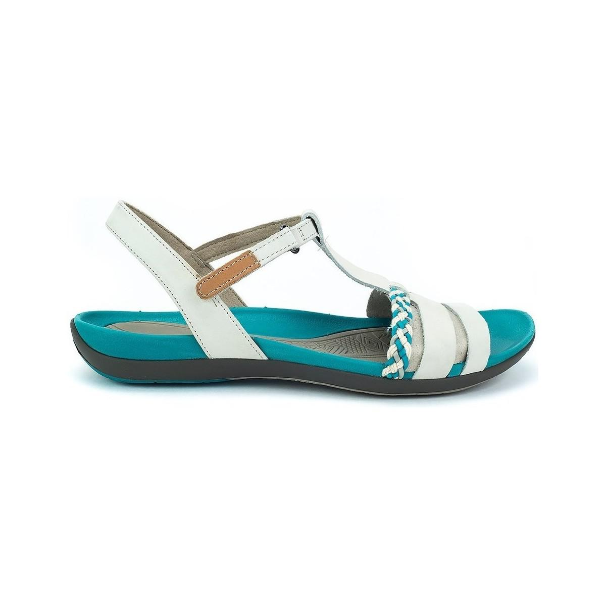 ee6f4a0a219c Clarks Tealite Grace Women s Sandals In White in White - Lyst