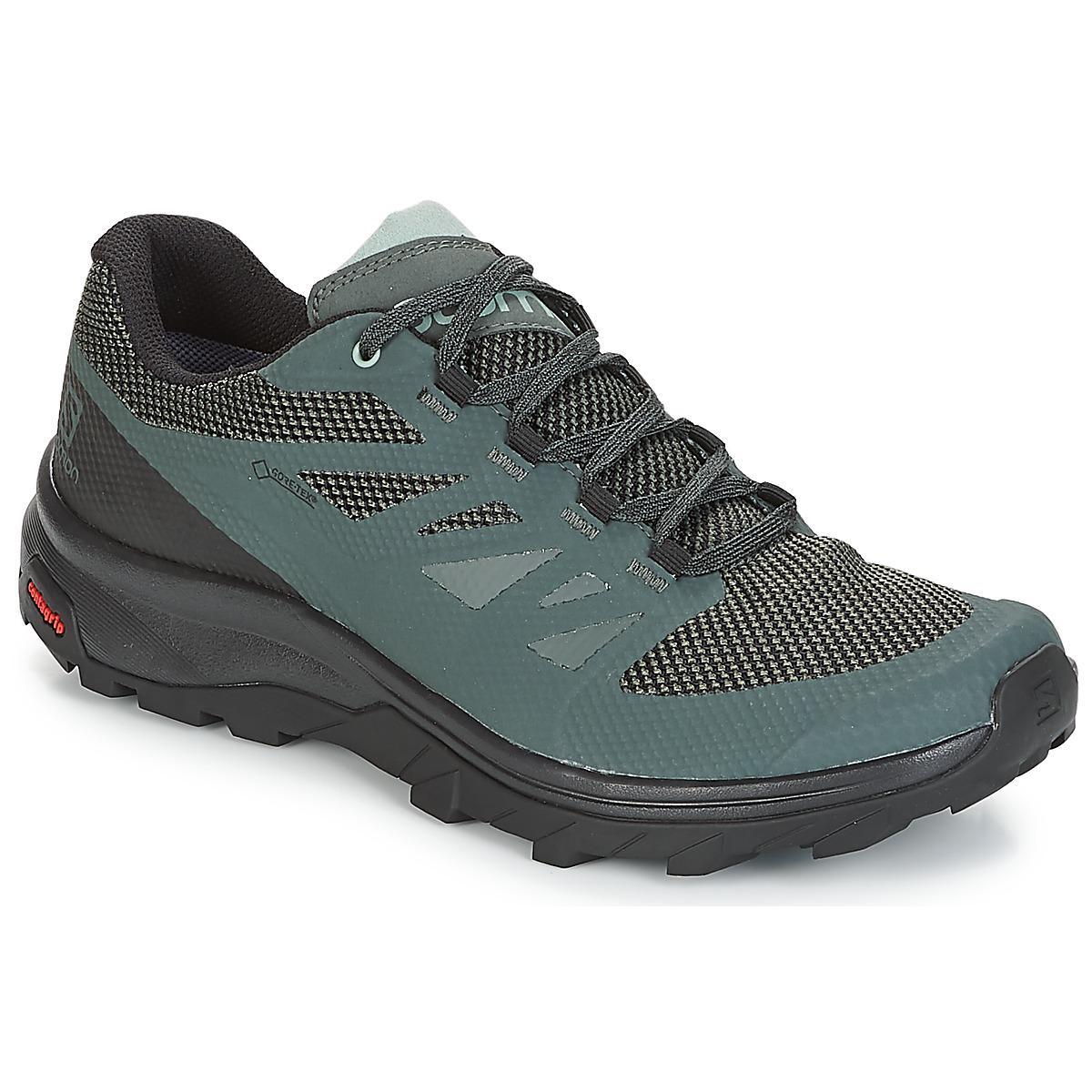 ebc74887609c Yves Salomon Outline Gtx® Men s Walking Boots In Green in Green for ...