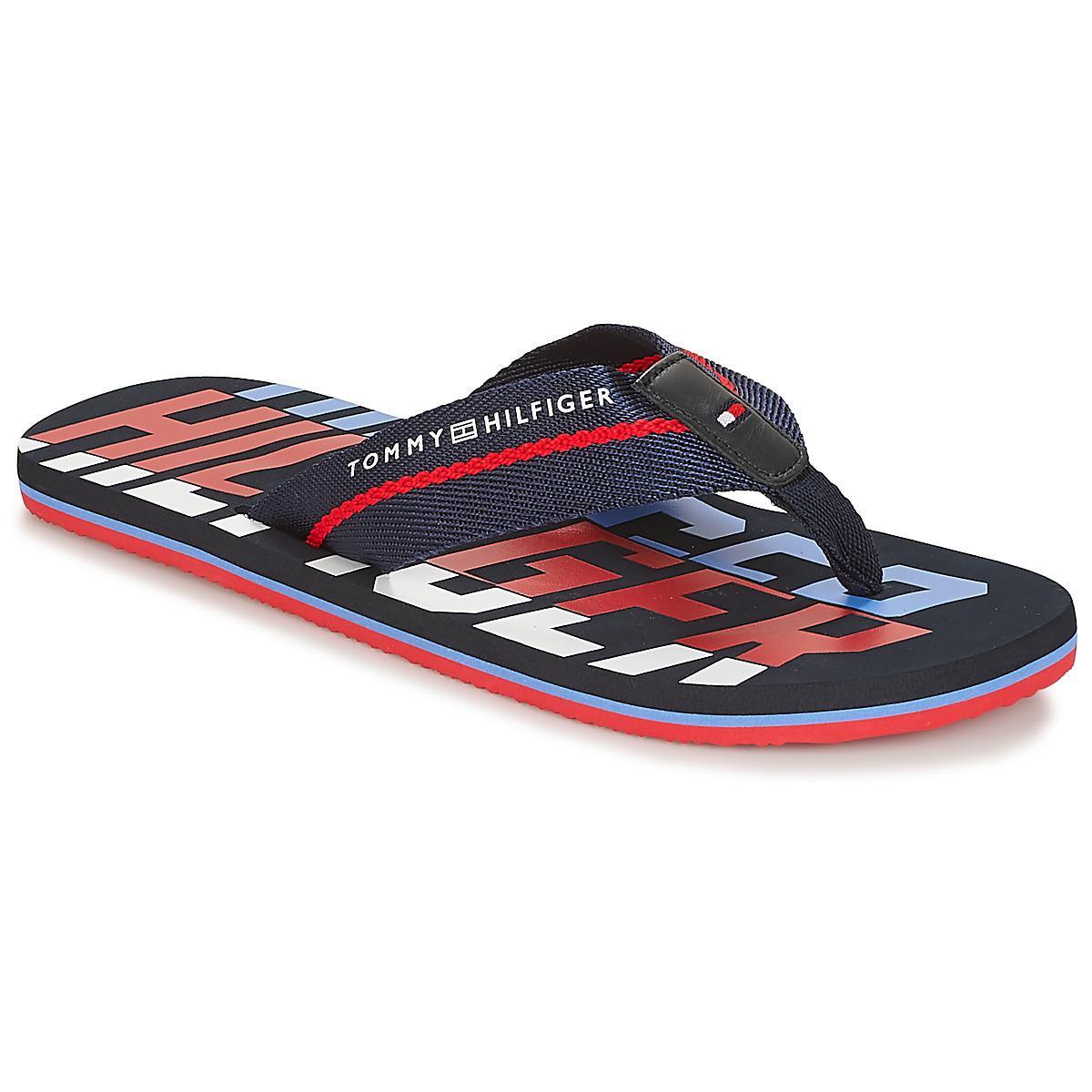 871234735808c Tommy Hilfiger Floyd 22 Men s Flip Flops   Sandals (shoes) In Blue ...