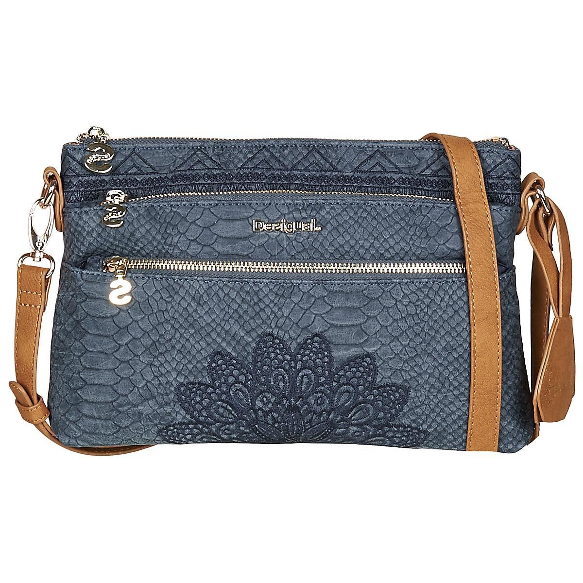 42a423c439531 Desigual Bols Aquiles Durban Women s Shoulder Bag In Blue in Blue ...