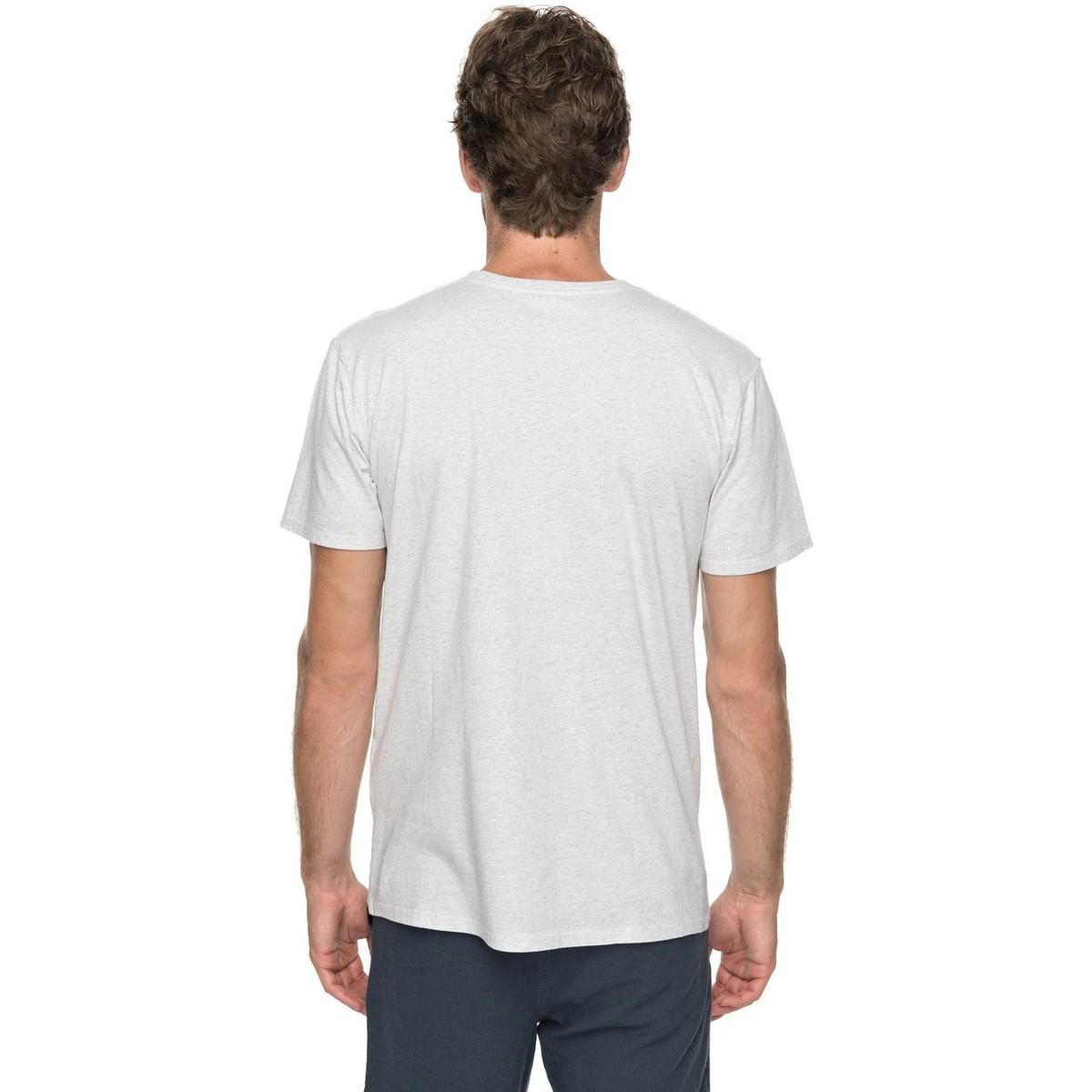 Quiksilver Cactus Falls - Camiseta Men s T Shirt In White in White ... cb800ca7c9