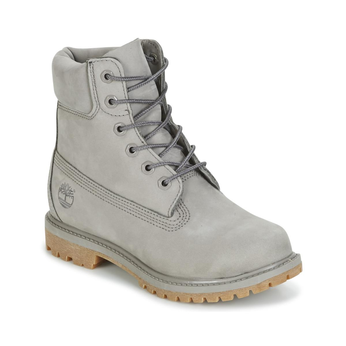 f35e955648 Timberland 6in Premium Boot - W Mid Boots in Gray - Save 15% - Lyst