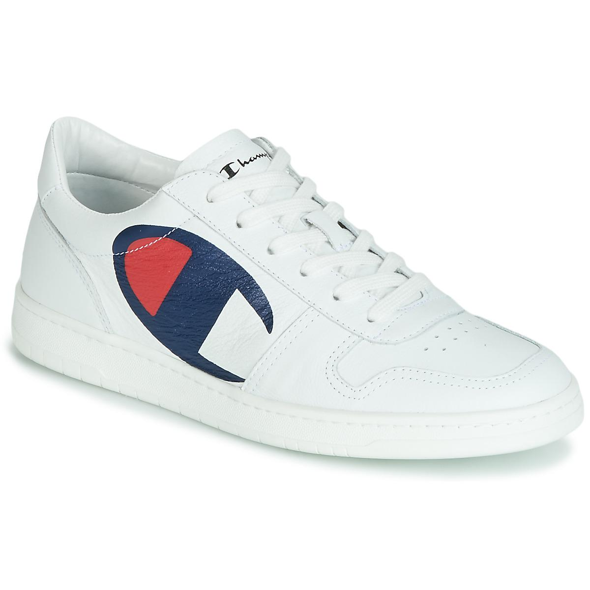 cf4ce2b647356 Champion 919 Roch Low Men s Shoes (trainers) In White in White for ...