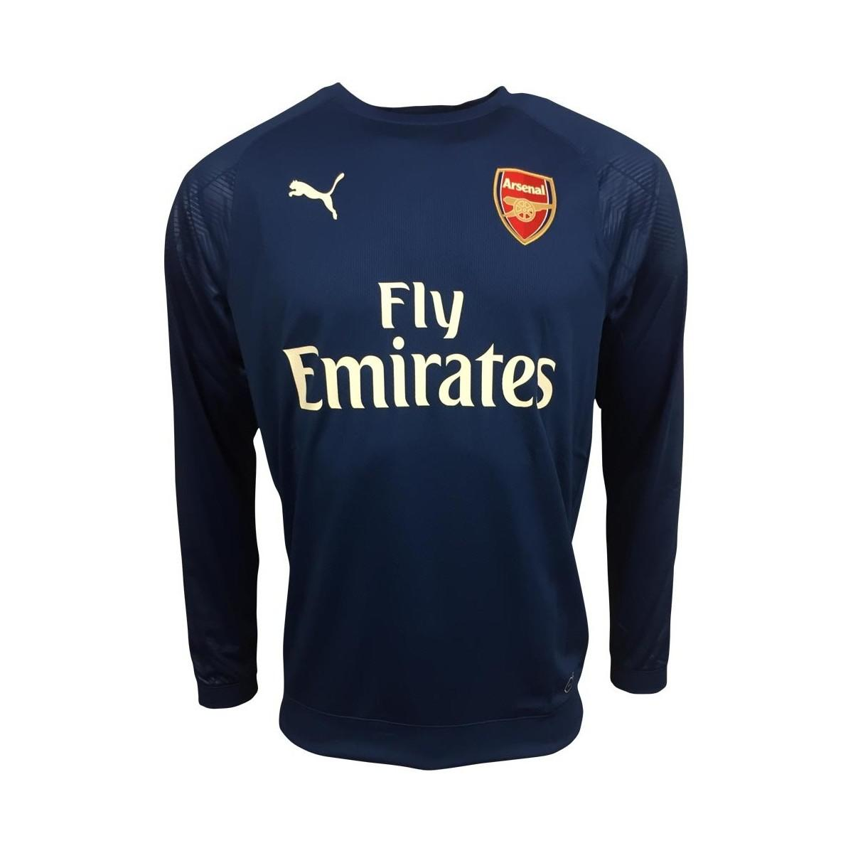 099f6bb86 Puma 2017-2018 Arsenal Training Sweat Top (limoges) Men s In Blue in ...
