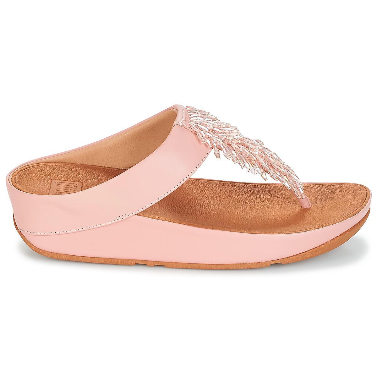 cef79f7c08d9e Fitflop - Cha-cha Toe-thong Sandals Crystal Women s Flip Flops   Sandals (.  View fullscreen