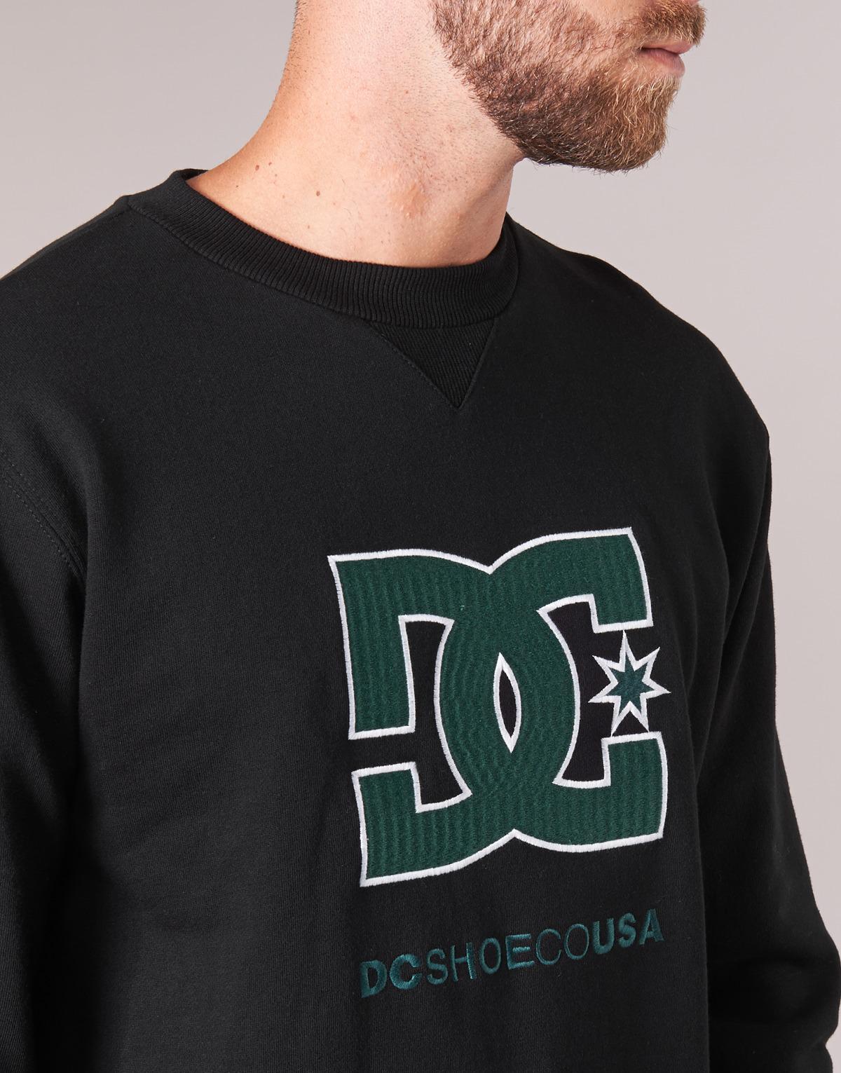 En Otlr Noir Kvj0 M Sweat Lyst Dc Hommes Shirt Wphqew Crew Glenridge w6qaY