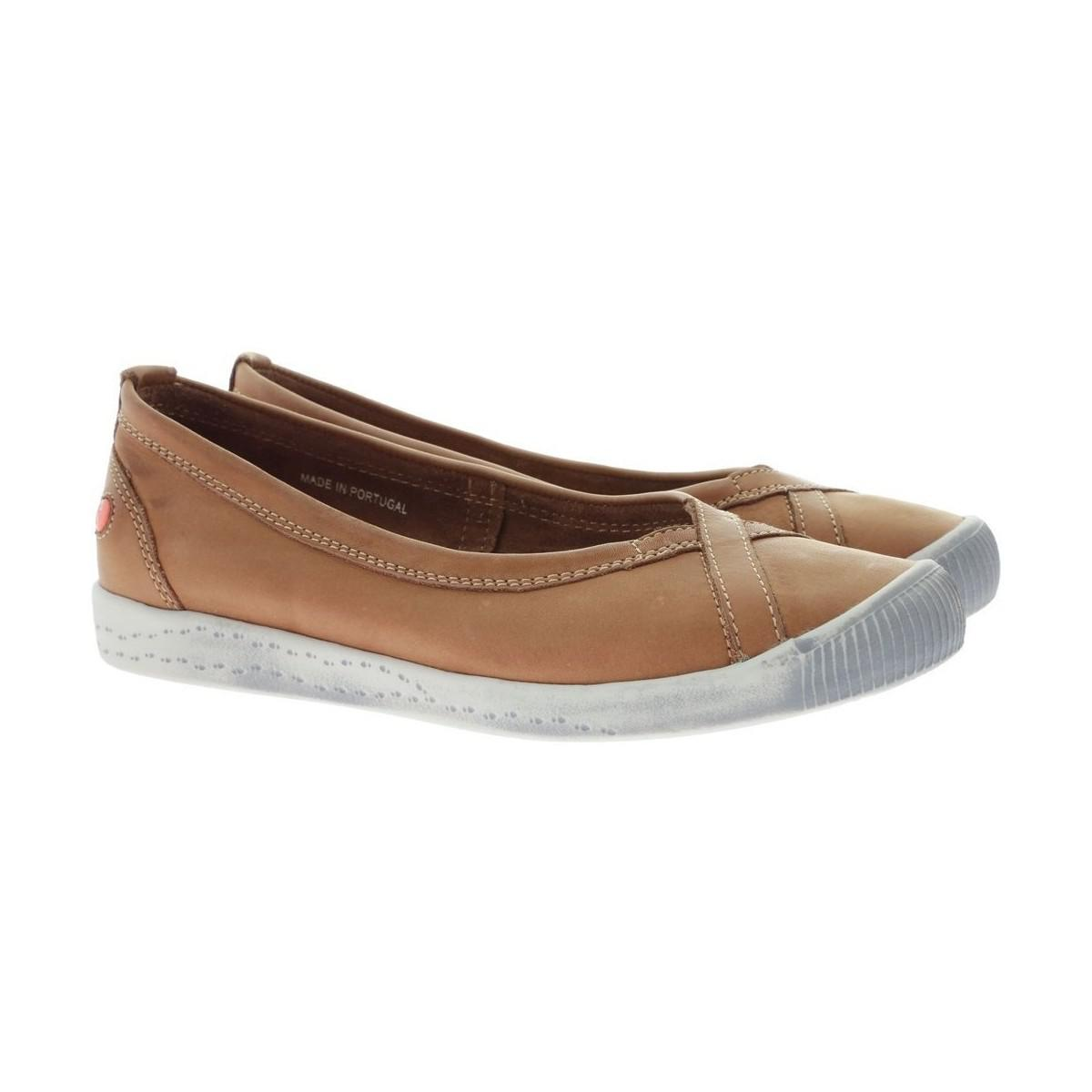 reputable site 13d08 1ca2a softinos-brown-Ilma-Womens-Shoes-pumps-Ballerinas-In-Brown.jpeg